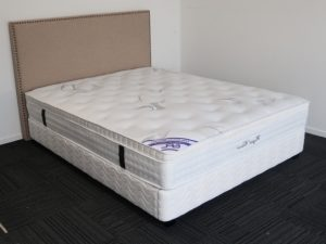 White Base & Pillow Top Mattress