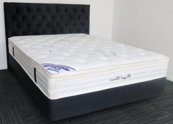 Divan Black Base & Pillow Top Mattress