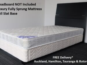 King Single White Base & Luxury Mattress