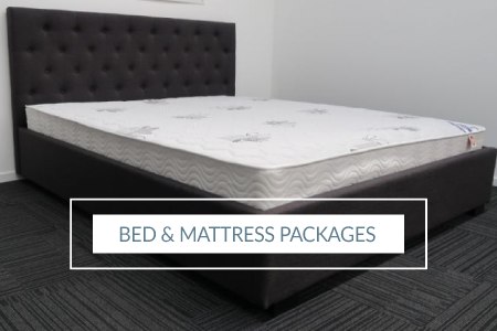 Bed Frame and Luxury Mattress